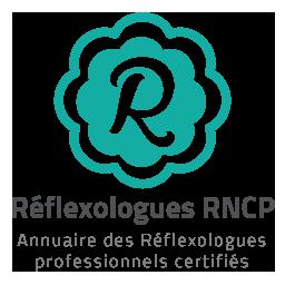 Logo Reflexologue RNCP